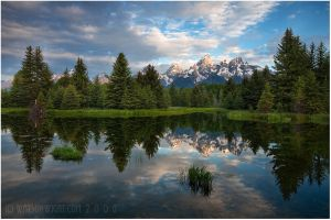 TETONS REFLECTED
